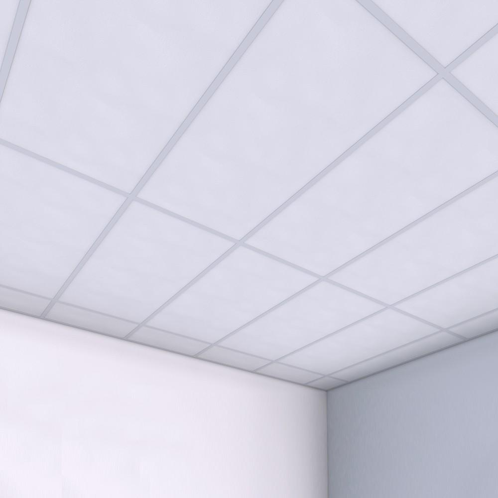 прямоугольные потолочные панели 1200х600