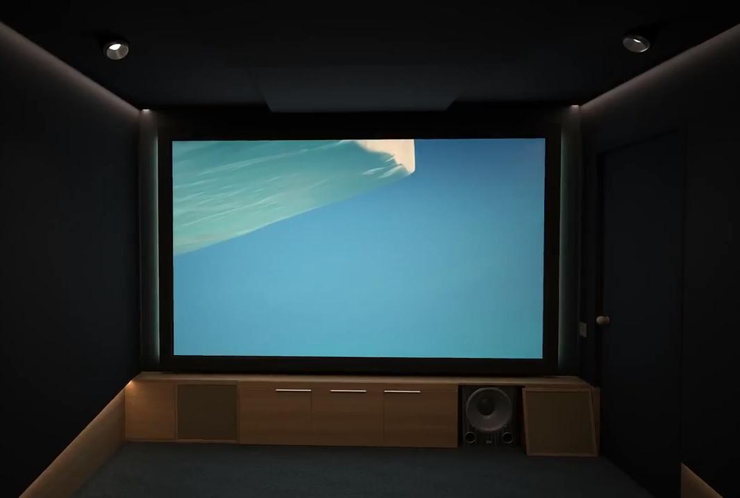 акустика в домашнем кинотеатре - потолок и стены