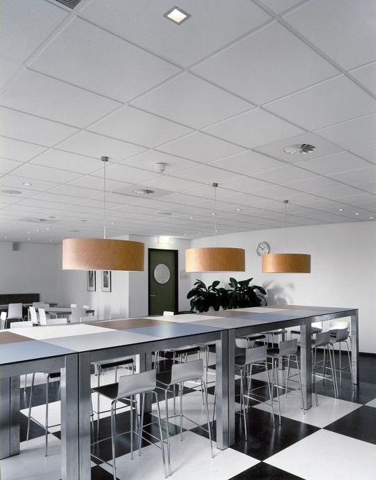 потолок Армстронг 600х600 мм в комплекте