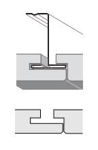 кромка SL2 на Z-профиле