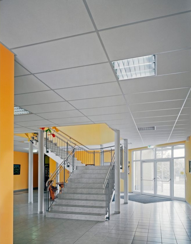 комплект потолка Армстронг размером 1200х1200 мм