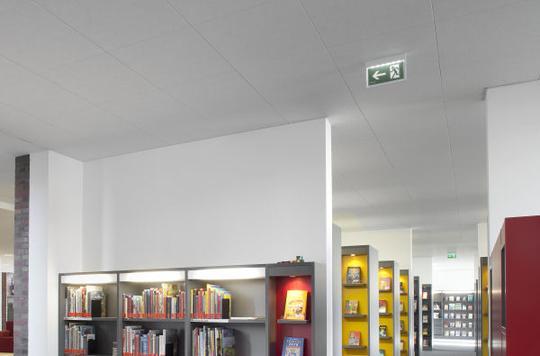 Интерьер комнаты с потолком OWA на системе S1