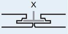 кромка Rockfon X